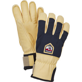 Hestra Sarek Ecocuir 5 Finger Gloves, navy